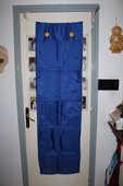 Panneau bleu  neuf 10 compartiments de 23x29 chacun 20 La Mulatière (69)