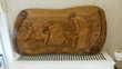panneau en bois (relief  les glaneuses) Wambrechies (59)