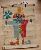 Panneau décoratif en toile (clown) à suspendre 6 Montauban (82)