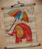 Panneau décoratif en toile - éléphant - à suspendre 6 Montauban (82)