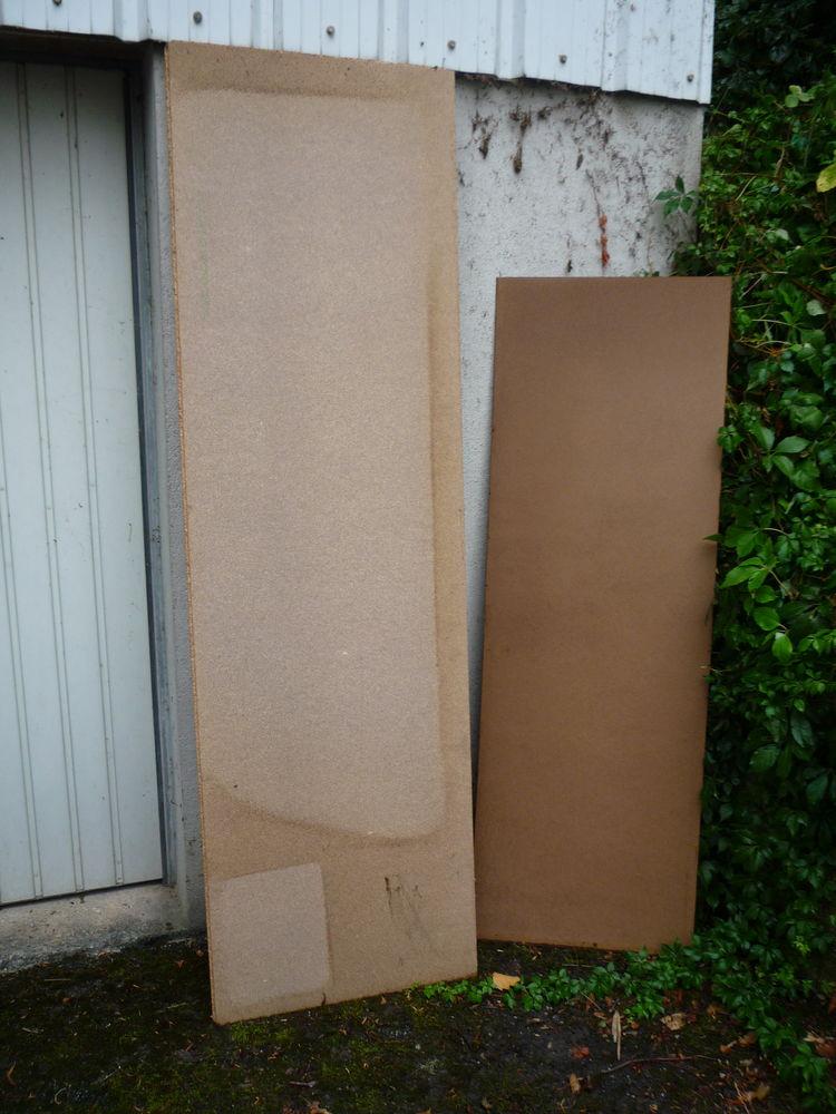 Panneau oggloméré 61cm x 205cm x 15mm/panneau isorel Bricolage