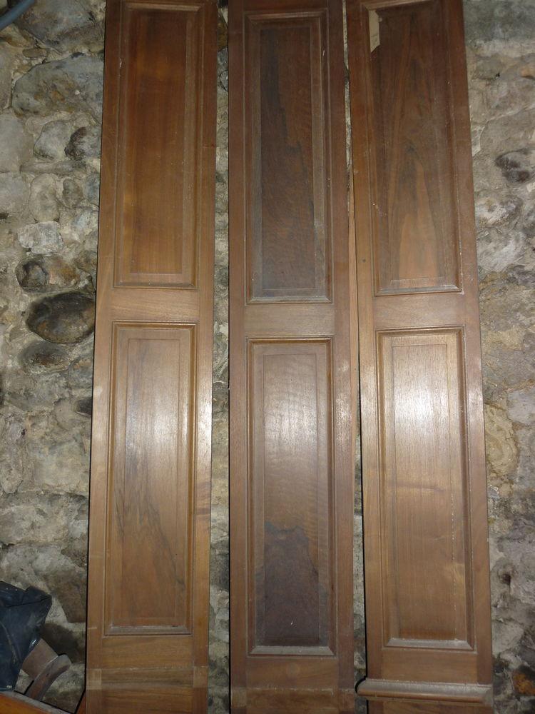 Panneaux anciens noyer blond + 100 ans 60 Saint-Alexandre (30)