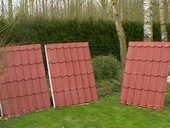 Panneaux de tuiles, isolés, neufs 50 Annequin (62)