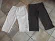 Lot 6 pantacourts T48 très bon état certains jamais portés Vêtements