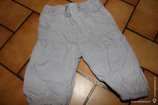 pantalon blanc cassé velours in extenso 6 mois 5 Wervicq-Sud (59)