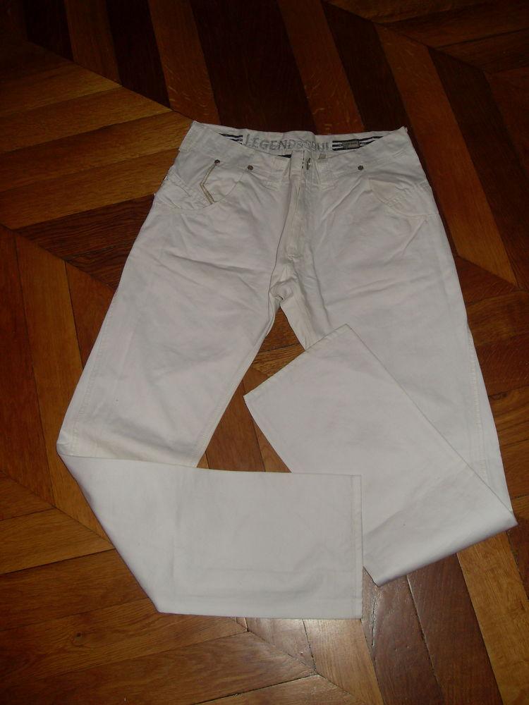 Pantalon Blanc Homme Taille 42 ou L 7 Vertaizon (63)