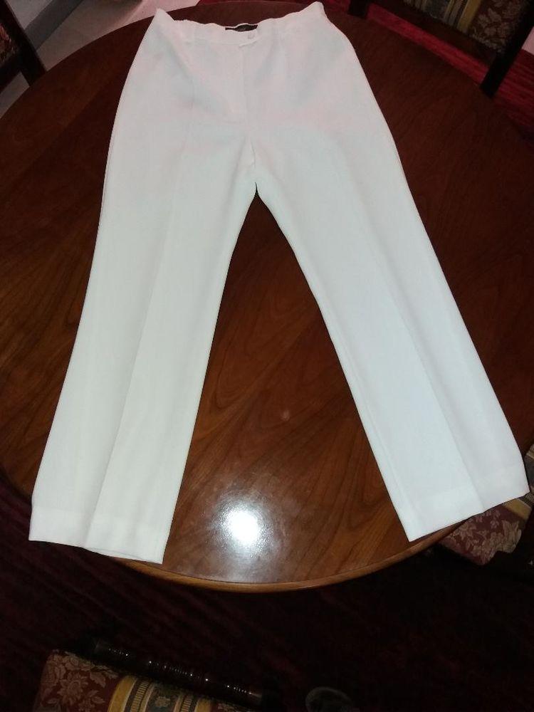 Pantalon blanc Marque UN JOUR AILLEURS Taille 40 50 Villeneuve-Loubet (06)