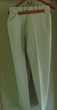 Pantalon blanc rayé marine T 48 Vr photos Venir chercher  Vêtements