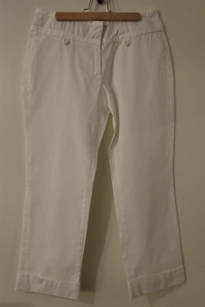 Pantalon 7/8 blanc Xanaka T36 6 Saint-Laurent-du-Var (06)