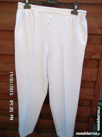 pantalon blanc t.38/42 2 Chambly (60)