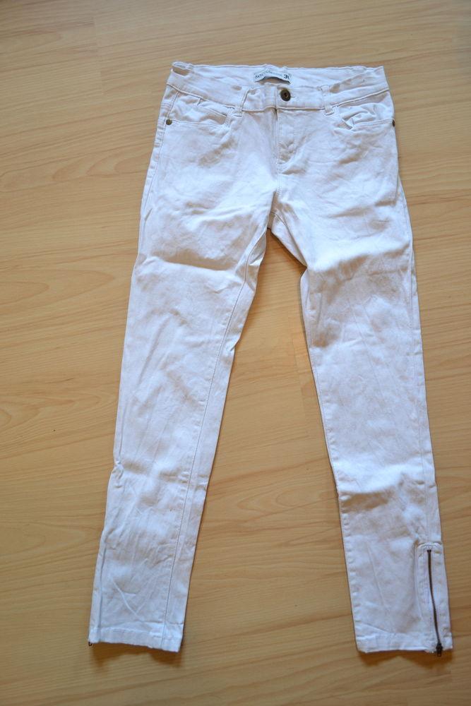 Pantalon blanc 10 Malissard (26)