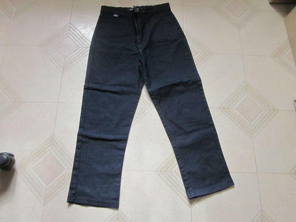 pantalon bleu jean taille 40 4 Soucelles (49)