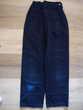 pantalon bleu marine fille Marèse 10 ans TBE