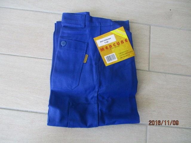 pantalon bleu de travail Vêtements