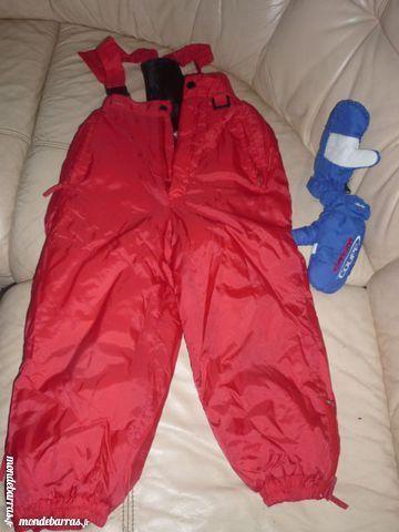pantalon à bretelles ski enfant + gants neige 7 Le Coudray-Montceaux (91)