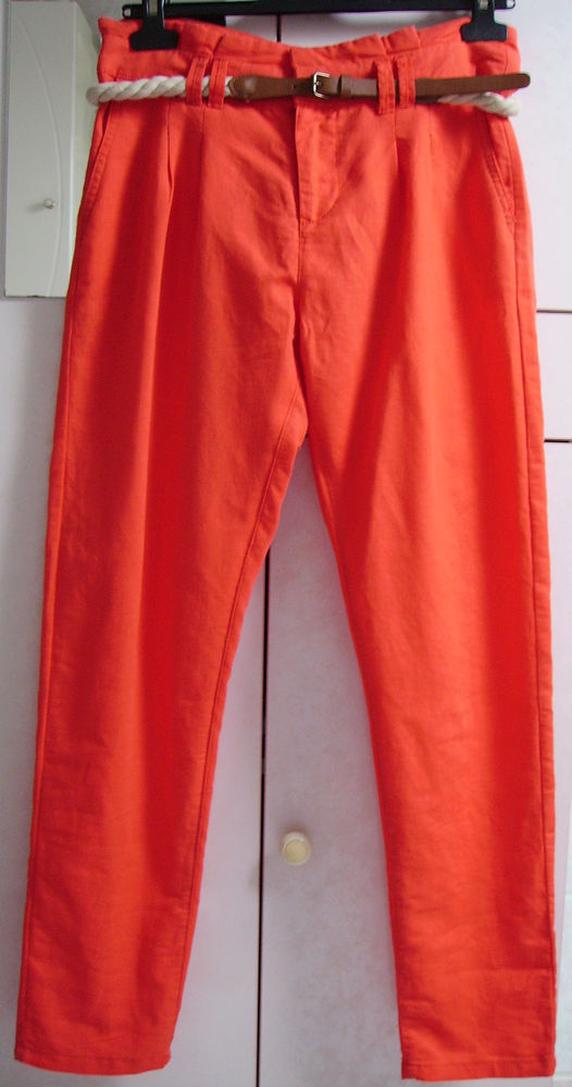 Pantalon lin Cache Cache 38 7 Lille (59)
