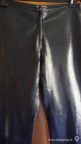 PANTALON CUIR FEMME «ARTURO» 90 Nice (06)