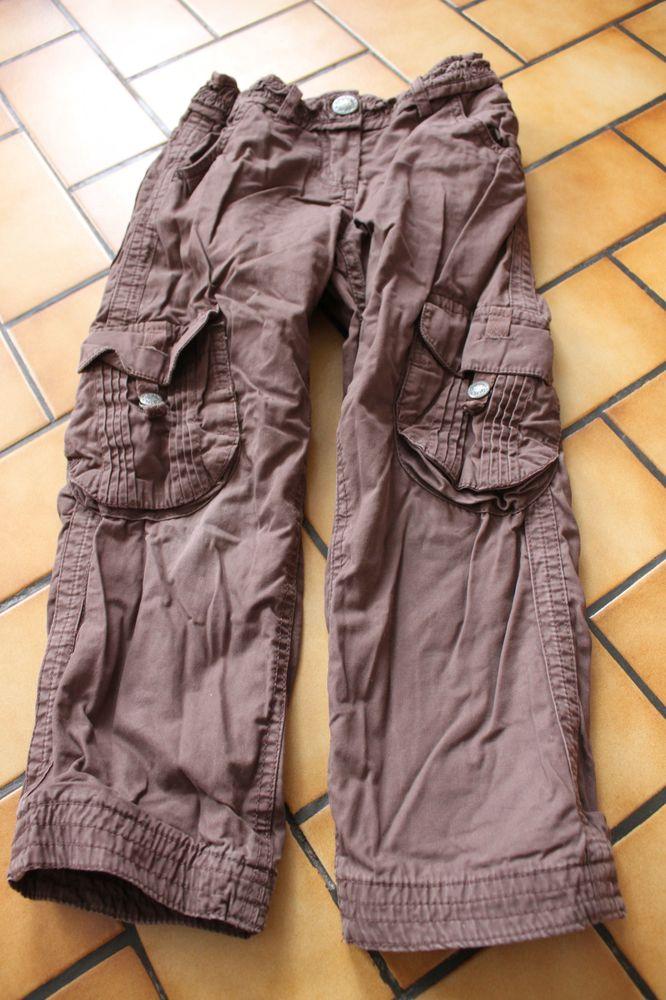 pantalon dpam 5 ans marron 6 Wervicq-Sud (59)