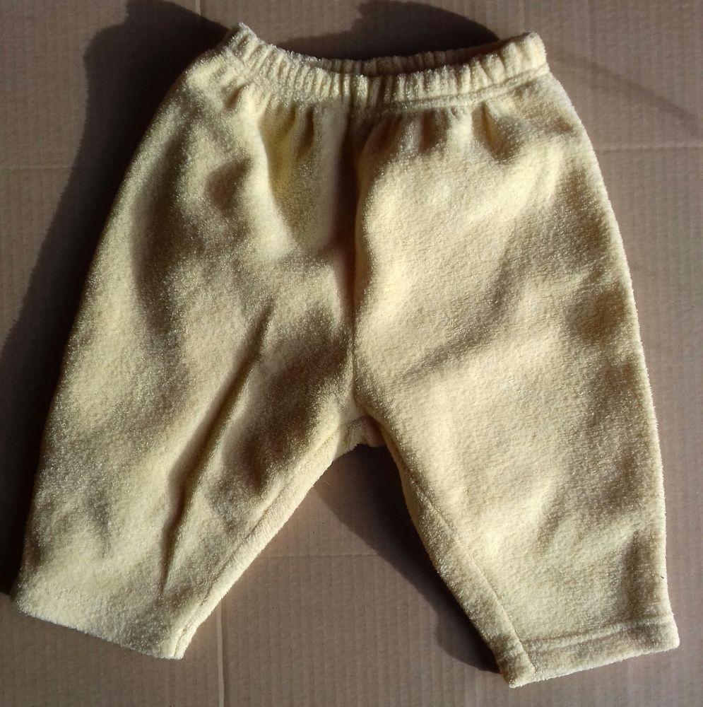Pantalon IN EXTENSO jaune poussin - 6 mois 3 Semoy (45)
