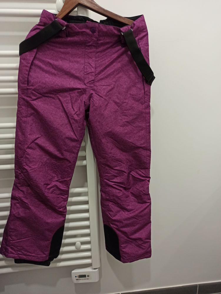 Pantalon ski fille couleur mauve taille 146-152cm 5 Annecy (74)
