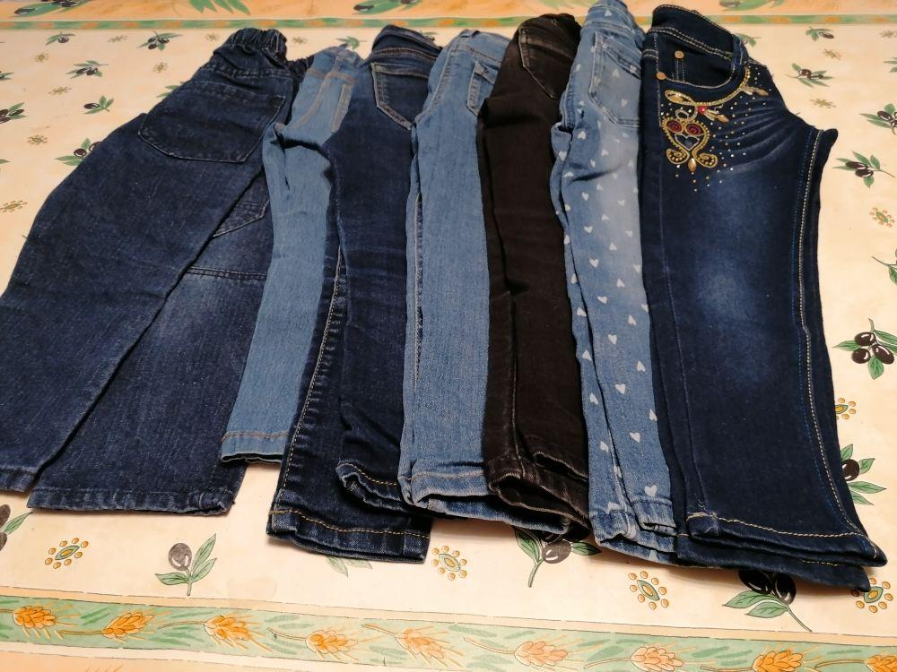lot de 7 pantalon fille 21 Mulhouse (68)