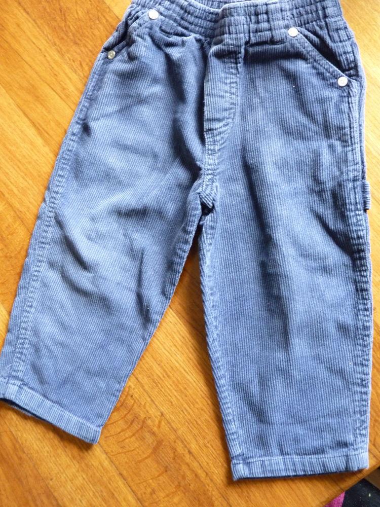 pantalon 2 ans garçon bleu tbe DPAM 1 Brienne-le-Château (10)