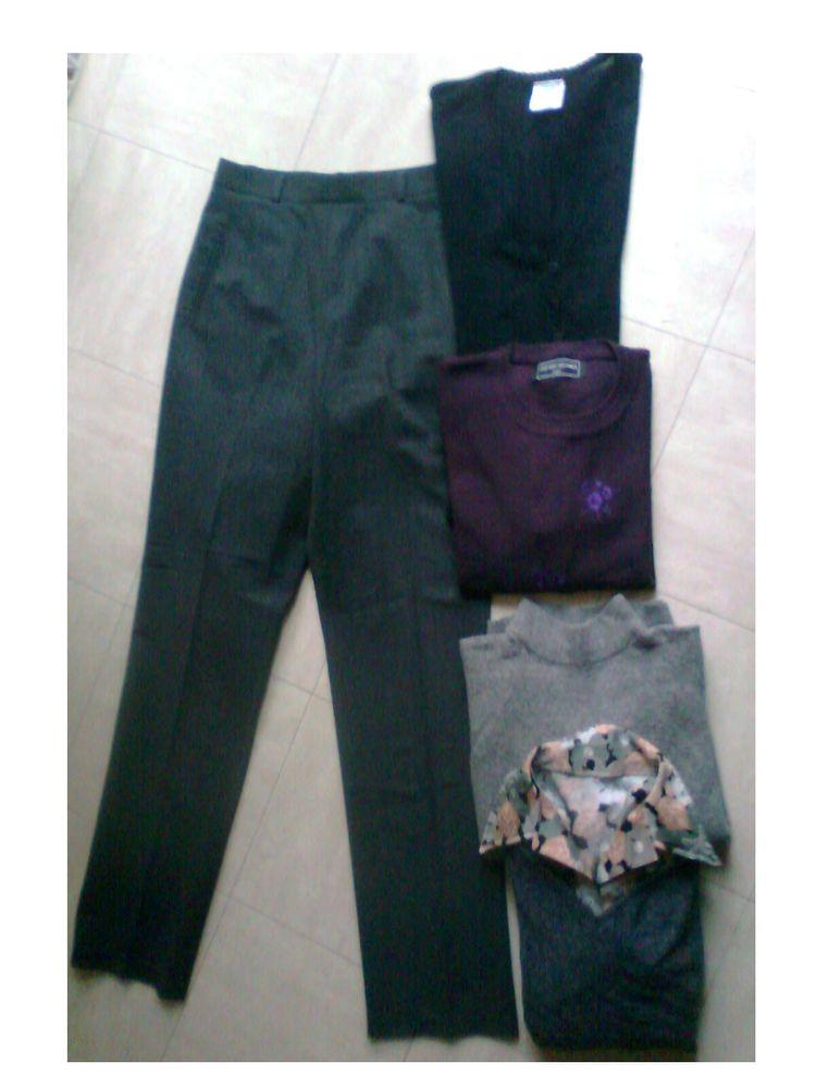 pantalon gris, chemisier, pulls - 40 - zoe 4 Martigues (13)