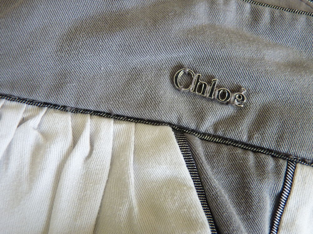 pantalon gris Chloé 10 ans fille neuf Vêtements enfants