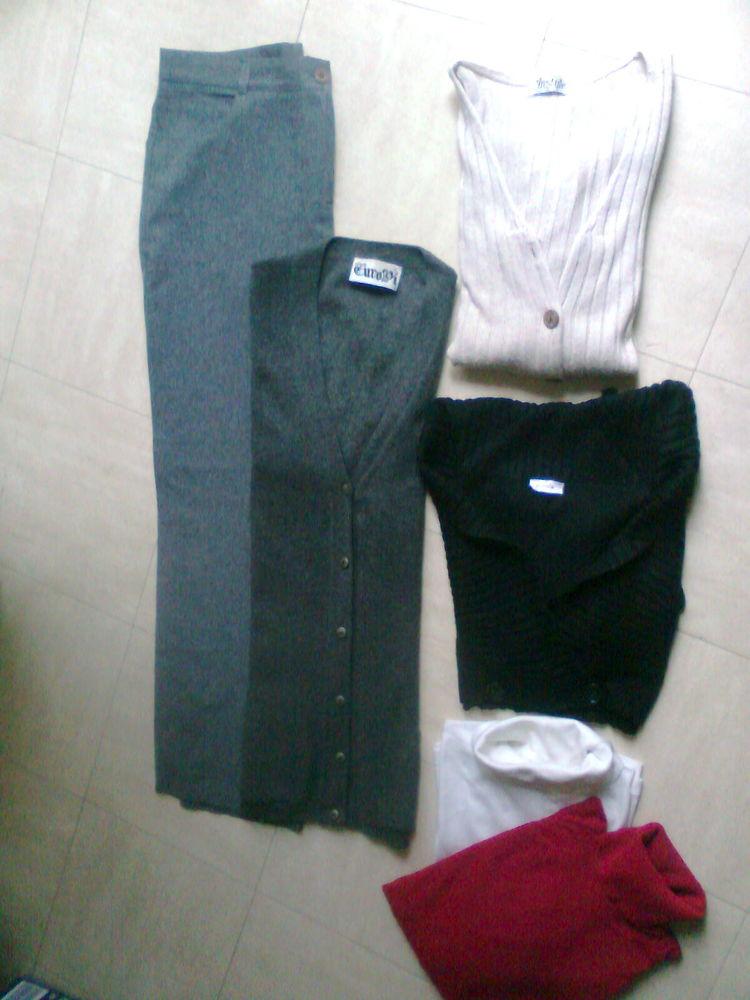 pantalon gris, cols roulés, gilets - zoe 4 Martigues (13)
