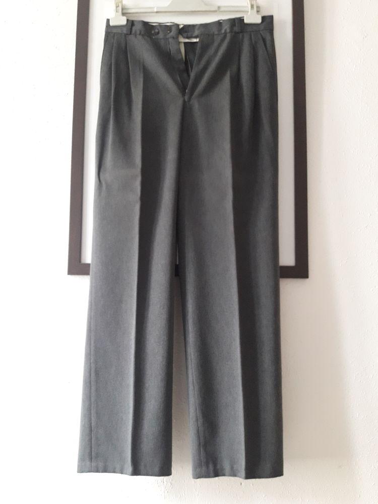 Pantalon gris de costume 5 Lézignan-Corbières (11)