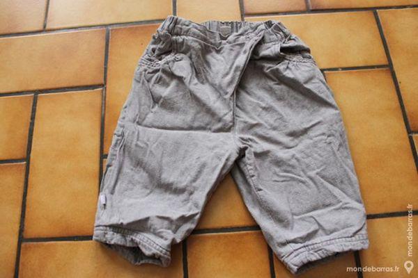 pantalon gris obaibi 6 mois 6 Wervicq-Sud (59)