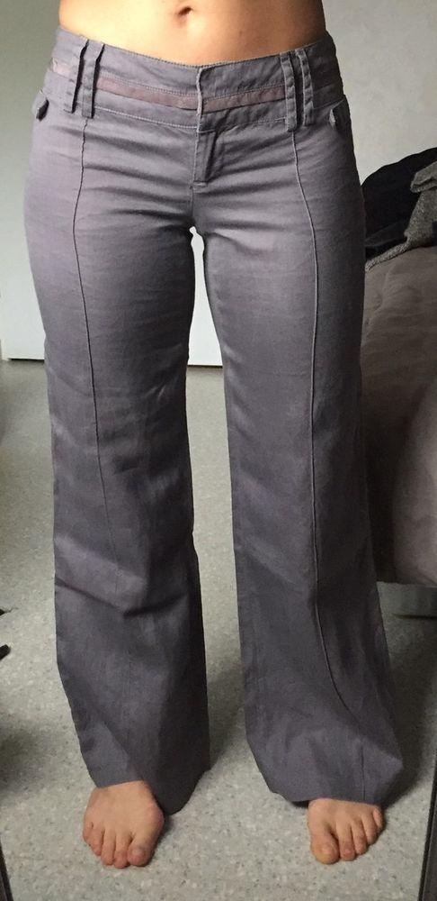 Pantalon en lin gris Promod - Taille 36 5 Bourg-en-Bresse (01)