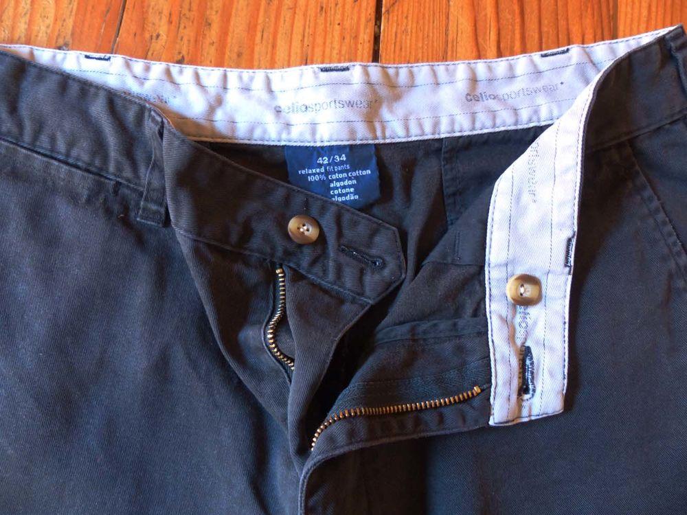 Pantalon homme Celio gris foncé taille 42 8 Strasbourg (67)