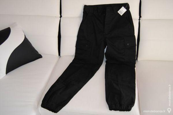 Pantalon d'intervention et sécurité noir neuf T 52 15 Les Églisottes-et-Chalaures (33)