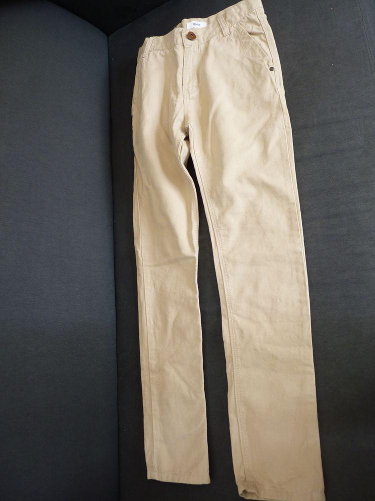 pantalon jean Hugo Boss 10 ans garçon neuf beige 45 Brienne-le-Château (10)