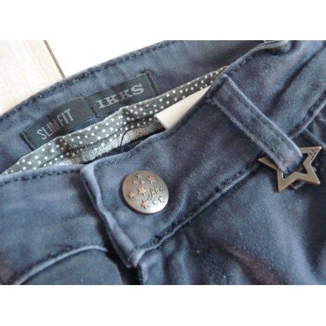 pantalon jean IKKS bleu fille 14 ans tbe 10 Brienne-le-Château (10)