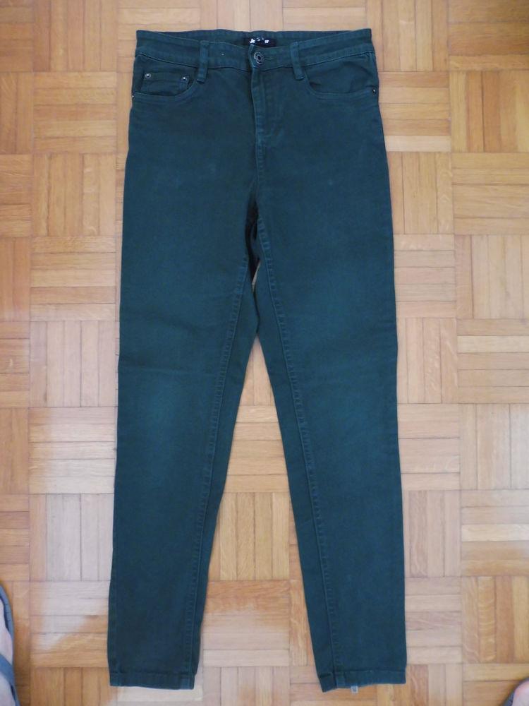 Pantalon Jean Jennyfer vert Vêtements