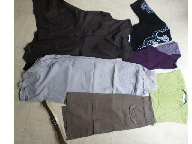 lot 10 - pantalon, jupe, robe, hauts - 38 - zoe 3 Martigues (13)