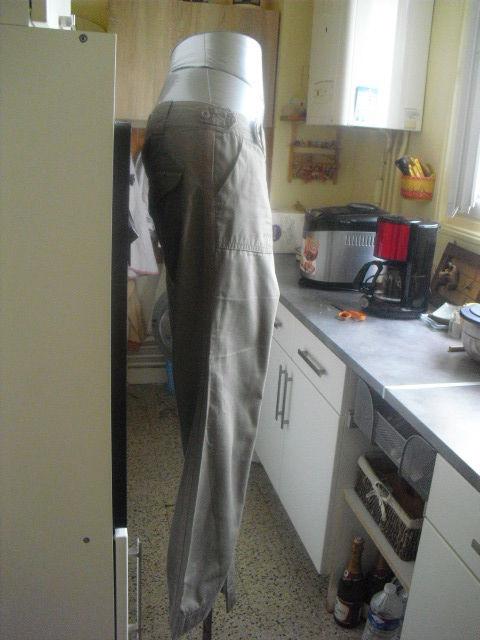 pantalon kaki CQFD taille 36 9 Lyon 5 (69)