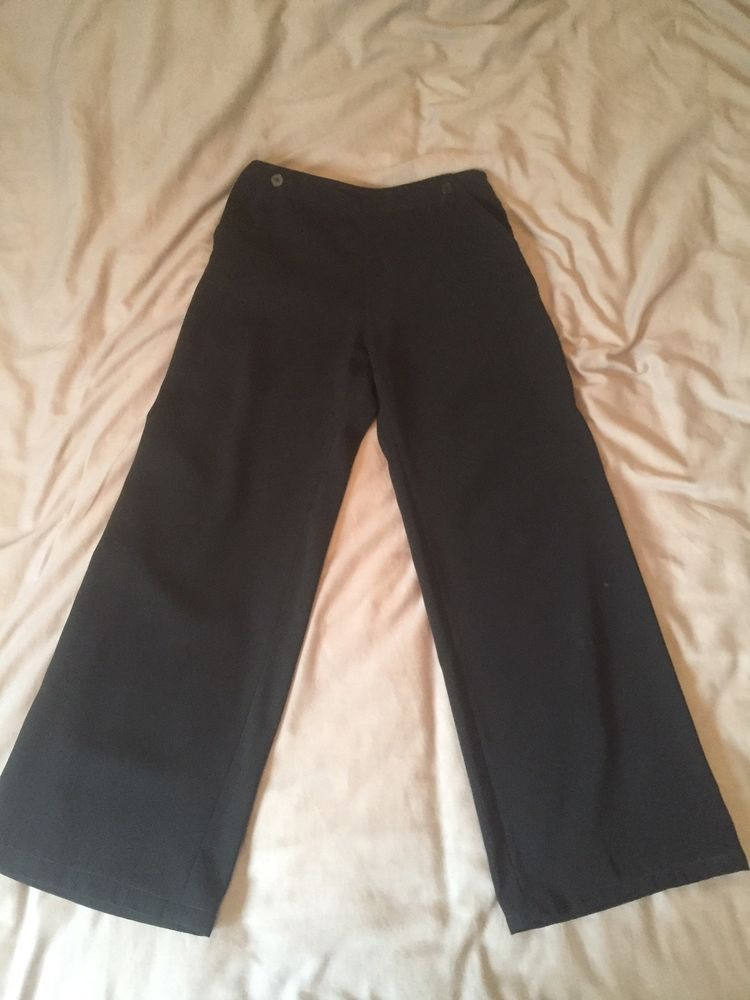 meilleure sélection 00ca4 41a55 Pantalon large noir Femme - Taille 36