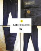 Pantalon marine CACHE CACHE 40 12 Marcq-en-Barœul (59)