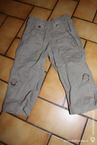 Pantalon marron jean bourget 18 mois 10 Wervicq-Sud (59)