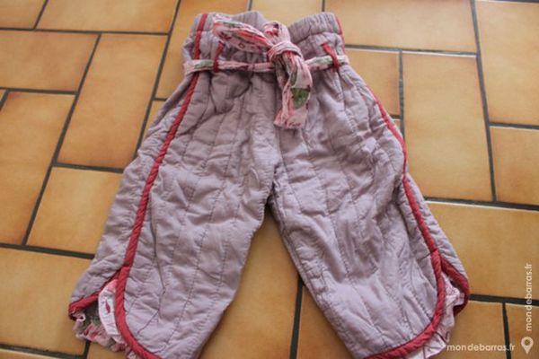 pantalon molleton absorba mauve 1 an Vêtements enfants
