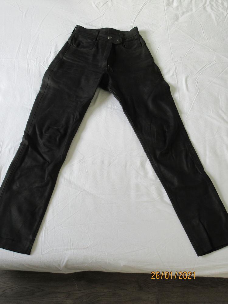 pantalon de moto en cuir 70 Gisors (27)