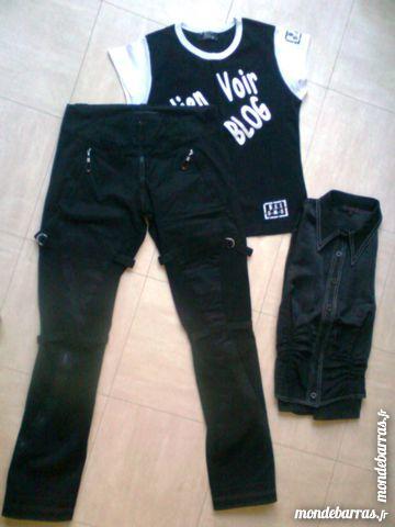 PANTALON noir, T.Shirt, chemisier - 36 - zoe 3 Martigues (13)