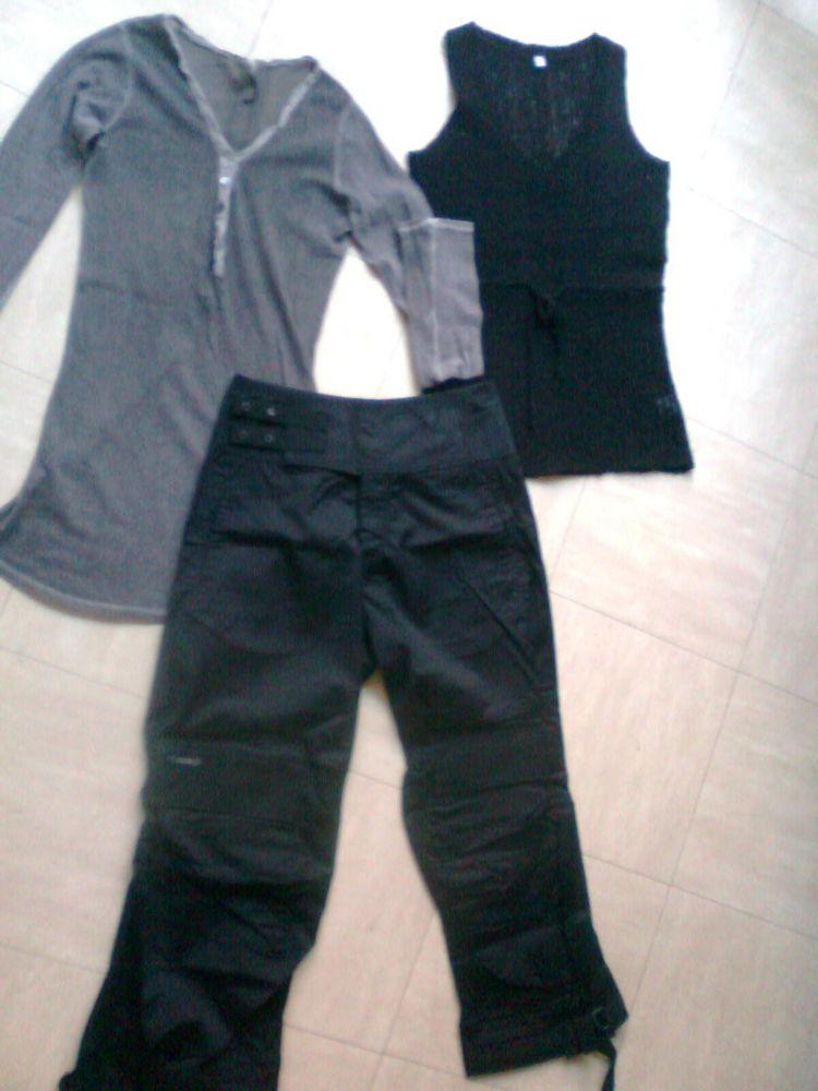 pantalon original, débardeur,t.shirt fin- 40- zoe 3 Martigues (13)