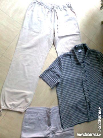 pantalon, pantacourt, chemise - 42 -  zoe 4 Martigues (13)