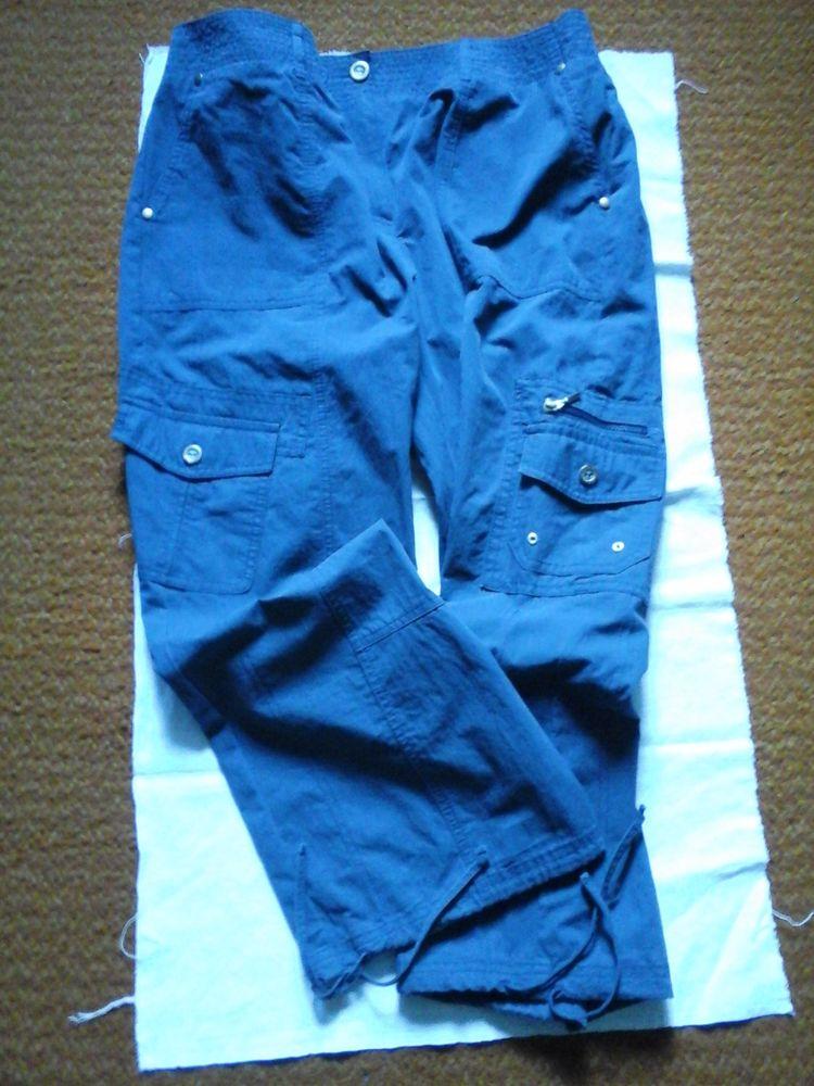 Pantalon polyesterr et coton 7 Pessac (33)