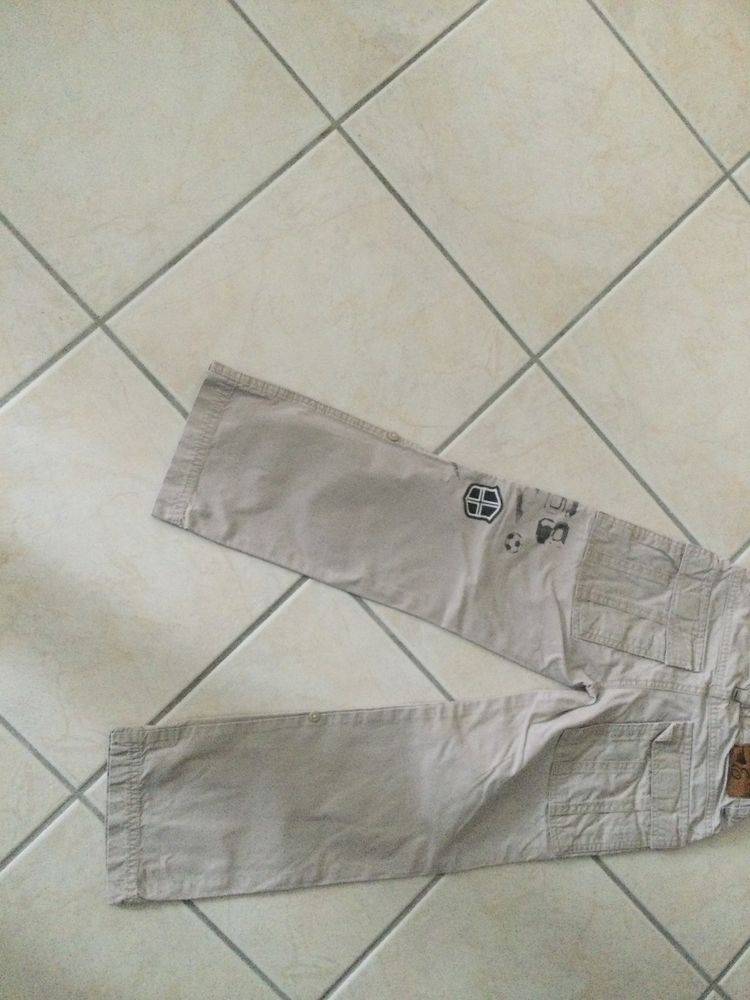 Pantalon toile beige Esprit Occasion Vêtements enfants