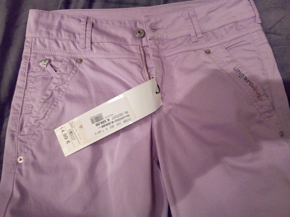 pantalon toile violet UNGARO FEVER 10 Savigny-sur-Orge (91)